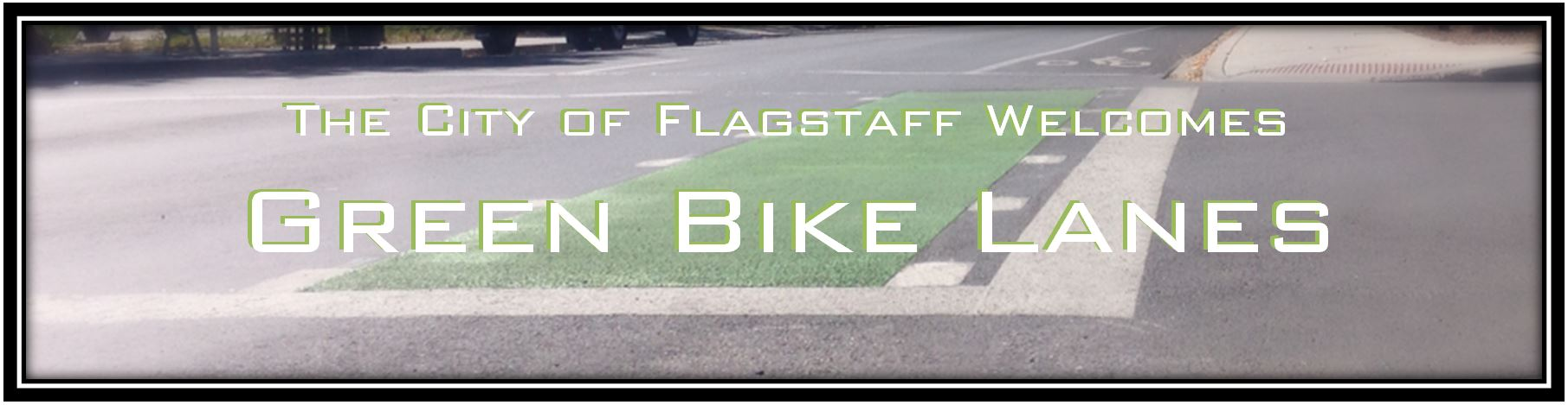 Flagstaff Welcomes Green Bike Lanes