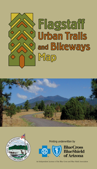 Flagstaff Urban Trails and Bikeways Map - Cover - 2011
