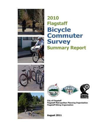 Cover 2010 Flagstaff Bicycle Commuter Survey Summary Report Med.jpg