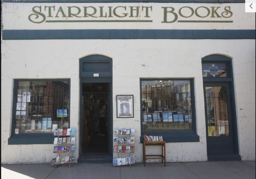 Starrlight Books front door