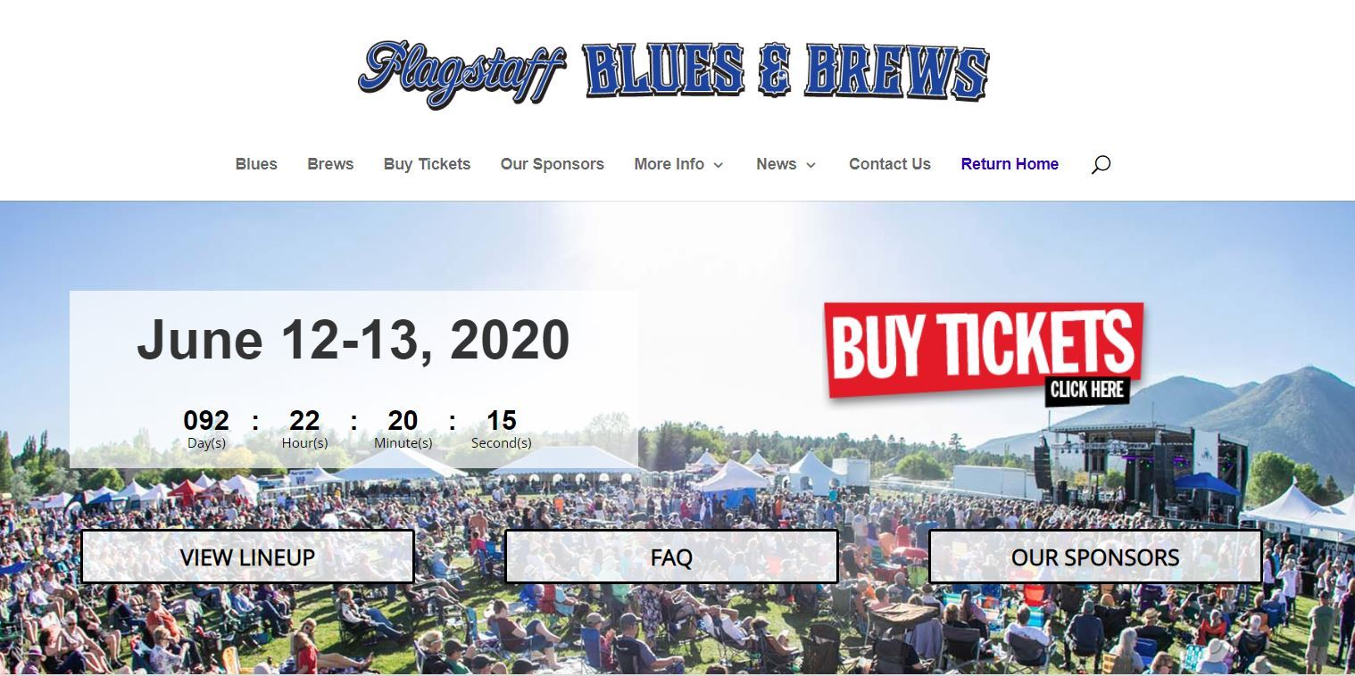 Flag Blues and Brews 2020