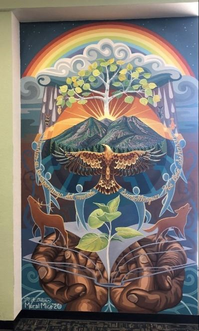 East Flagstaff Community Library Mural