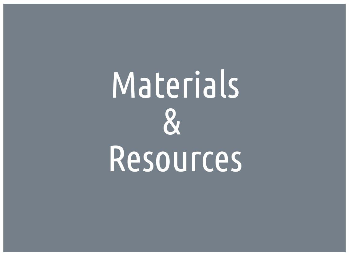 materials and resources icon