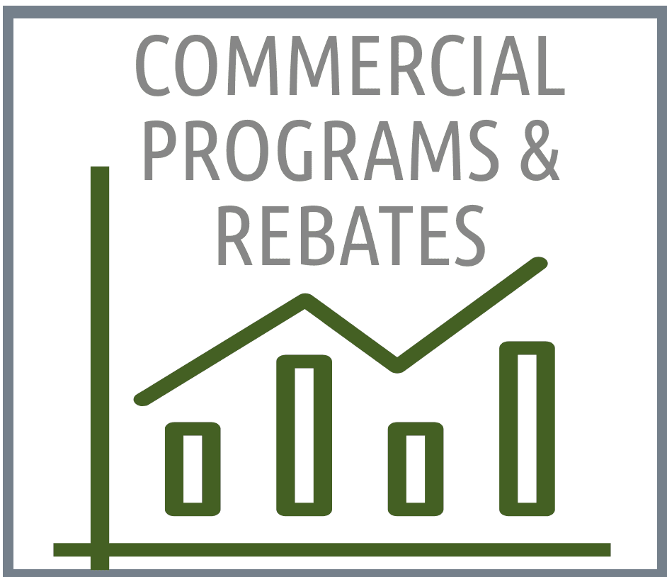 Commercial Programs and Rebates