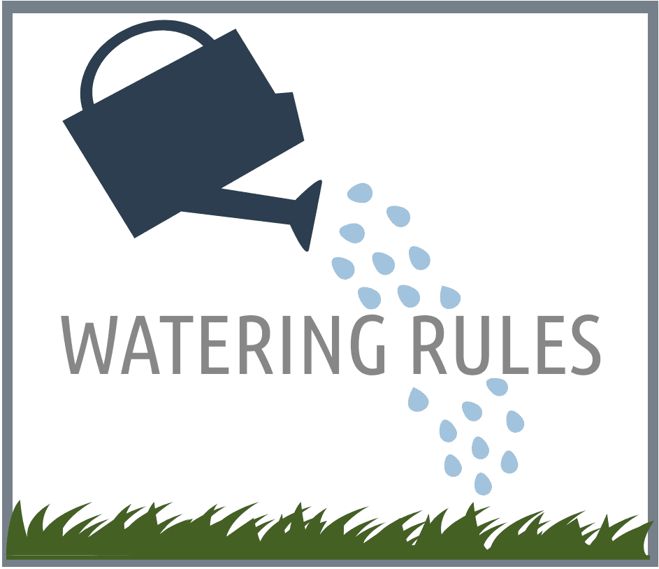 Watering Rules