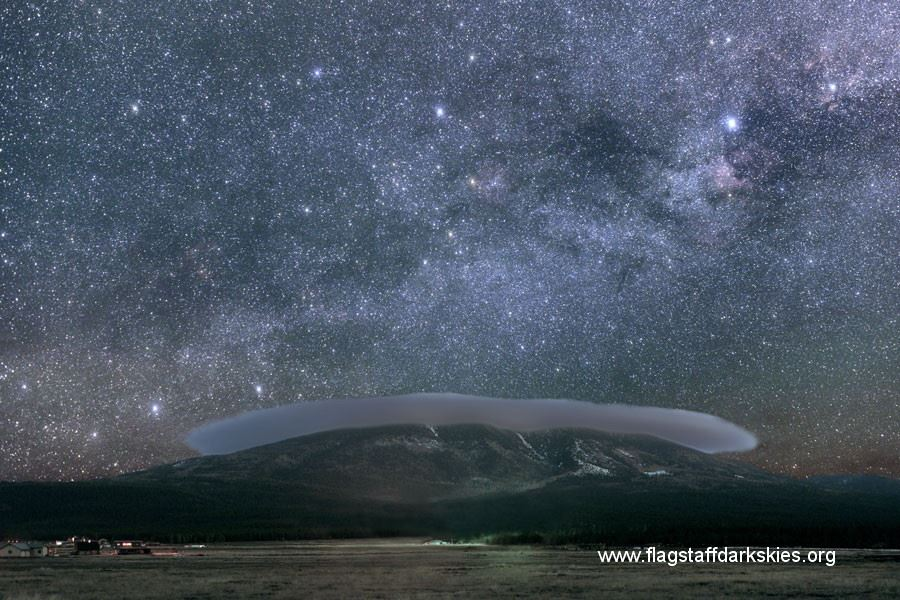 Starry Sky over Flagstaff